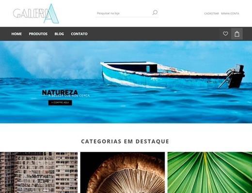 e-commerce - Galeria Henrique Queiroga