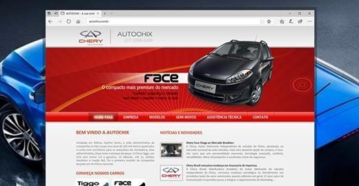 Criação de sites - Autochix