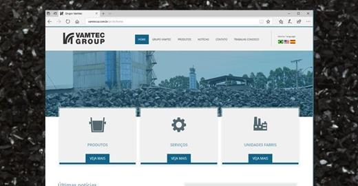Criação de sites - Vamtec Group