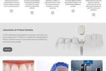 Centro de estética dental: Website criado pela ALDABRA