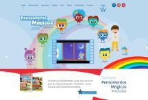 Pensamentos Mágicos: Website criado pela ALDABRA