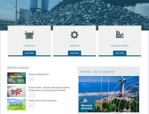 Criação de sites - Vamtec Group