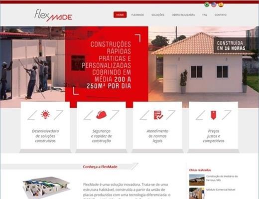 Criação de sites - Flexmade