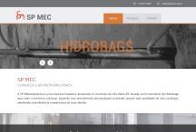 SP Metalmecânica: Website criado pela ALDABRA