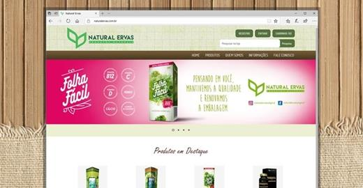 e-commerce- Natural Ervas Ecommerce
