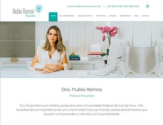 Criação de sites - Nubia Ramos Psiquiatra