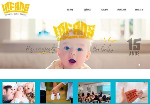 imagem site Infans