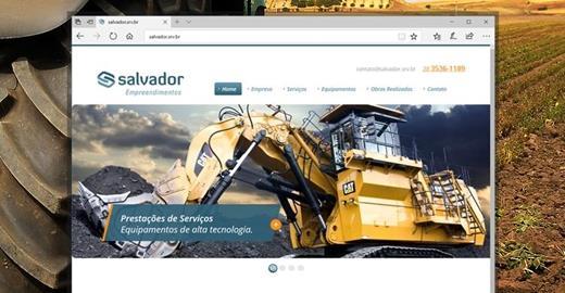 Criação de sites - Salvador Empreendimentos