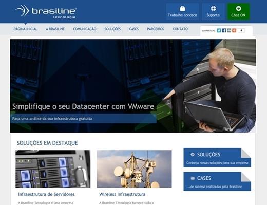 Criação de sites - Brasiline Tecnologia