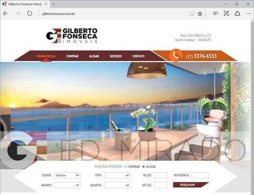 Criação de sites - Gilberto Fonseca Imóveis