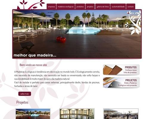 Criação de sites - Madeiras Ecológicas