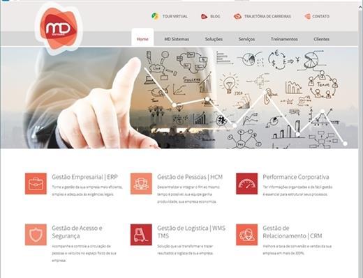 Criação de sites - MD Sistemas