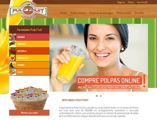 e-commerce - Pulp Fruit