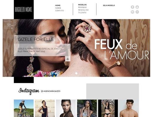 Criação de sites - Ragazzo MGMT