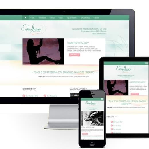Layout responsivo do projeto de criação de sites: Responsividade aplicada ao layout do site