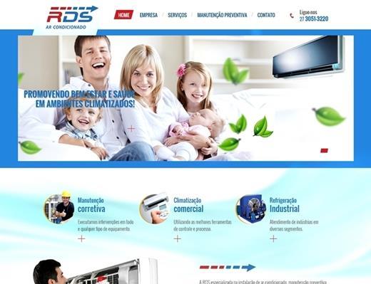 Criação de sites - RDS Ar Condicionado