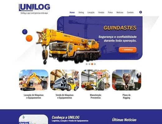 Criação de sites - Unilog
