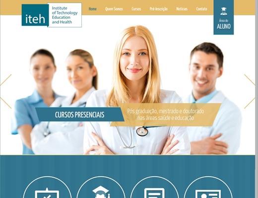 Criação de sites - ITEH