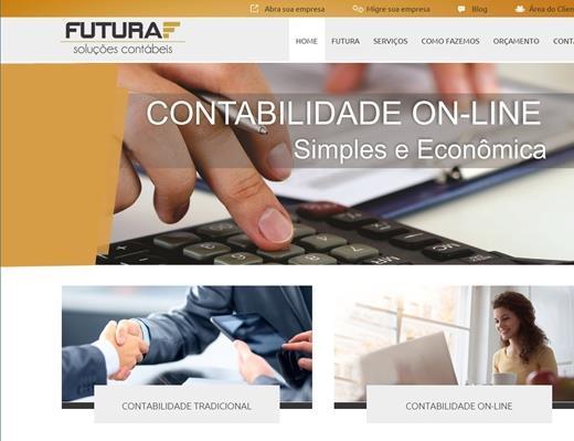 Criação de sites - Futura Soluções Contábeis