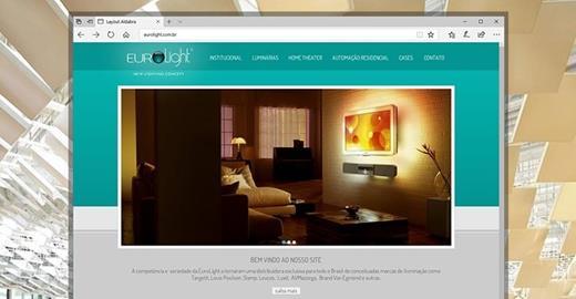Criação de sites - Eurolight