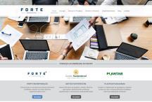 Forte Grupo: Website criado pela ALDABRA