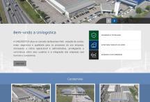 Unilogística: Website criado pela ALDABRA