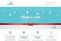 Primer Vida: Website criado pela ALDABRA