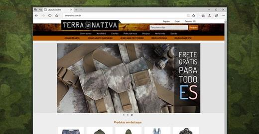 e-commerce- Terra Nativa