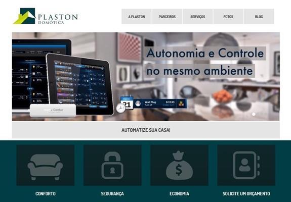 imagem site Plaston Domótica