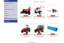 Comercial Scardua: Website criado pela ALDABRA