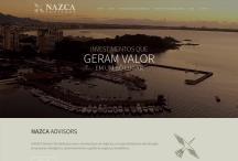 Nazca Advisors: Website criado pela ALDABRA