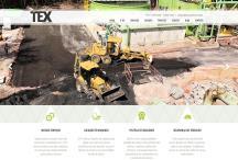 Tex Engenharia: Website criado pela ALDABRA