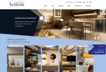 Sublyme Planejados: Website criado pela ALDABRA