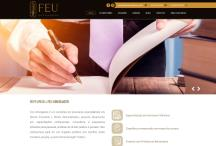 Feu Advogados: Website criado pela ALDABRA