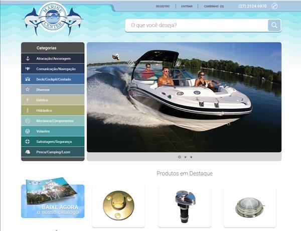 e-commerce - Marine Center