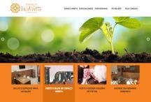 Espaço Hábita: Website criado pela ALDABRA