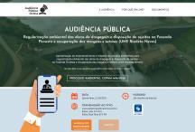 Audiência Pública Online: Website criado pela ALDABRA