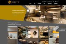 Conceito Móveis Planejados: Website criado pela ALDABRA