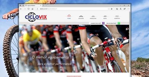 Criação de sites - Ciclovix