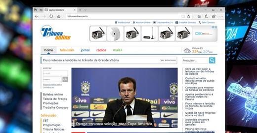 Criação de sites - Portal Tribuna Online