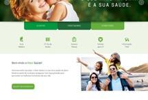 Mais Saúde: Website criado pela ALDABRA