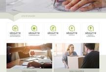 Abaurre: Website criado pela ALDABRA