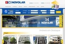 Novo Lar Imóveis: Website criado pela ALDABRA