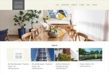 Abaurre Arquitetura: Website criado pela ALDABRA