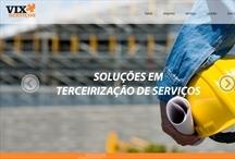 Vix Serviços: Website criado pela ALDABRA