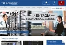Brasiline tecnologia: Website criado pela ALDABRA