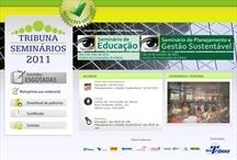 Seminários Tribuna: Website criado pela ALDABRA