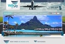Wave Turismo: Website criado pela ALDABRA