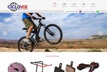 Ciclovix: Website criado pela ALDABRA