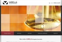 Varella Advogados: Website criado pela ALDABRA